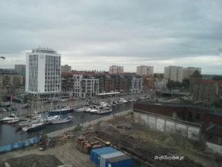 Gdańsk Wyspa Spichrzów marina