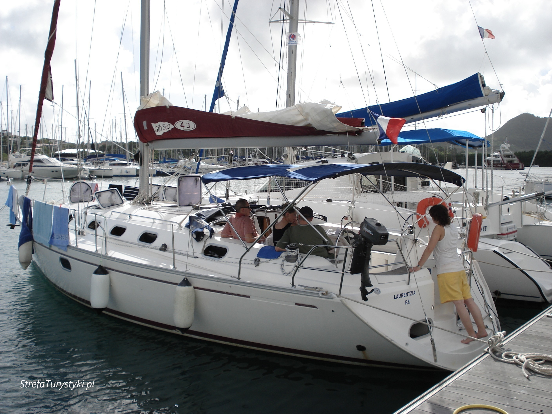 Nasz jacht karaiby