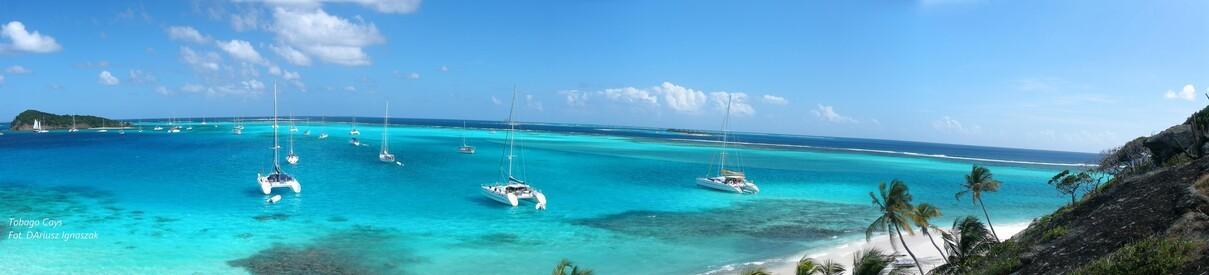 Autor panoramy Tobago Cays - Dariusz Ignaszak